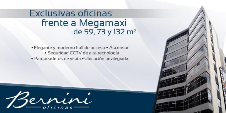 Oficinas frente a Megamaxi